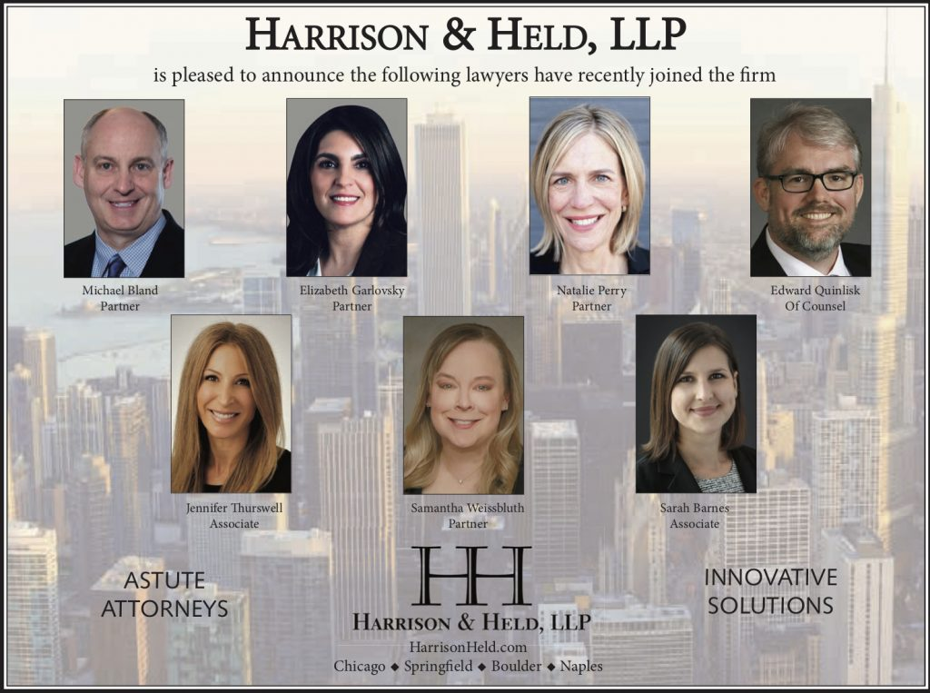 A group of seven new Chicago estate planning attorneys that will helping clients to prepare for the future.