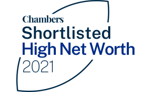 Chambers Shortlisted High Net Worth 2021